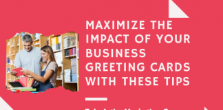 Maximize the Impact of Your Business Greeting Cards With These Tips - Take Action Marketing